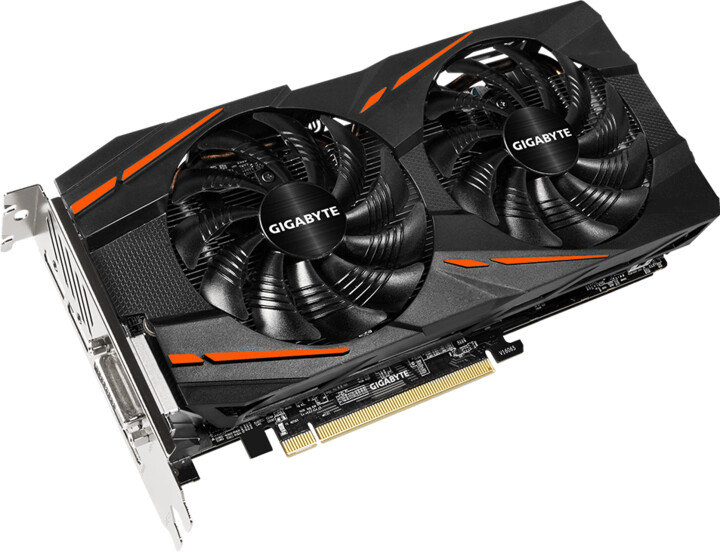 GIGABYTE Radeon RX580 Gaming 8G, 8GB GDDR5