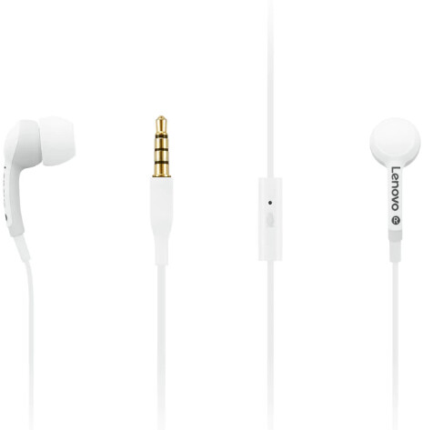 Lenovo sluchátka 100 In-Ear, bílá