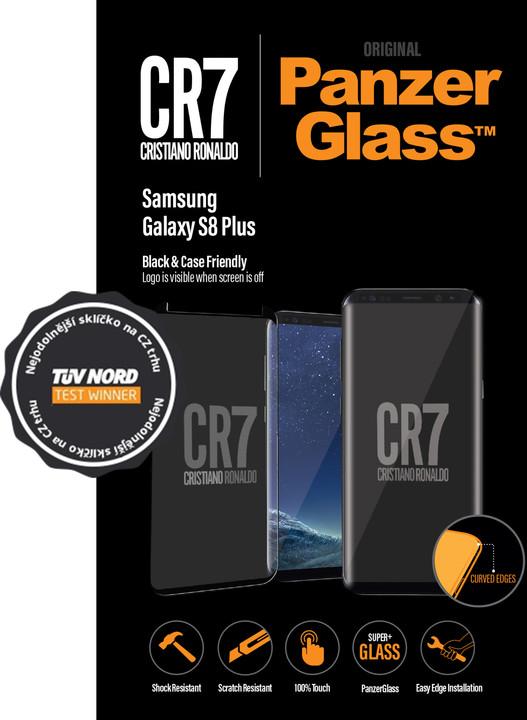 PanzerGlass Samsung S8 Plus Black CaseFriendly CR7