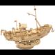 Stavebnice RoboTime Rybářská loď, dřevěná