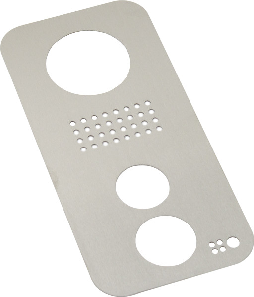 Fibaro krycí rámeček F101 pro DoorBird řady D10x, nerez