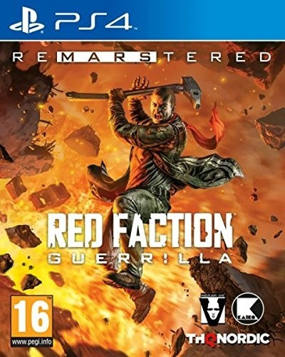 Red Faction Guerrilla - Re-Mars-tered Edition (PS4)
