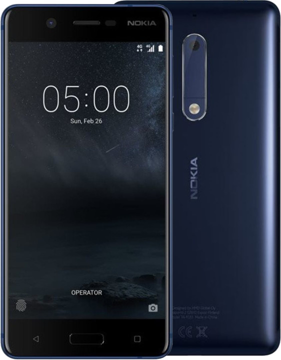Nokia 5, Single Sim, modrá