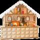 Adventní kalendář Small Foot - Kouzelný vánoční dům, dřevěný