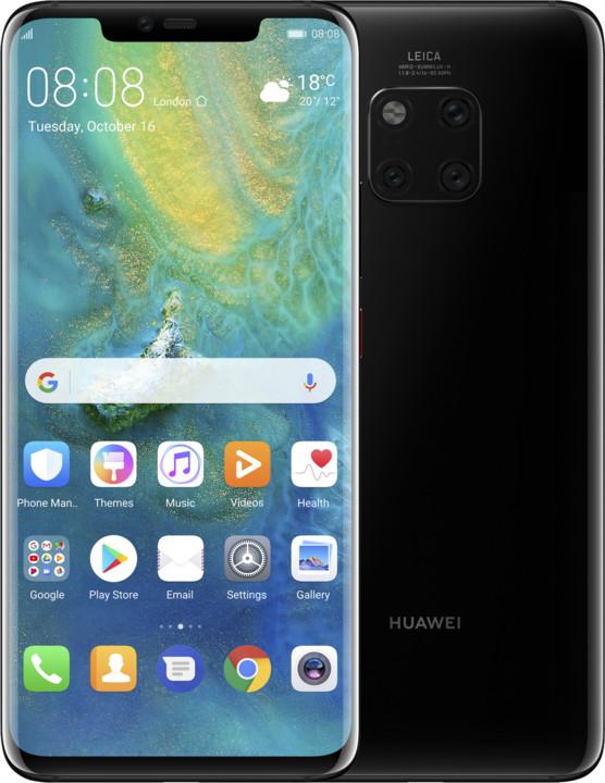 Huawei Mate 20 Pro, 6GB/128GB, černá