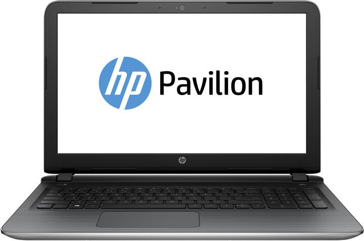 HP Pavilion 15 (15-ab064nc), stříbrná