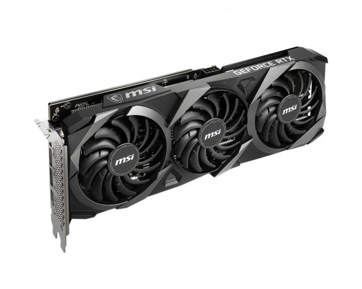 MSI GeForce RTX 3060 VENTUS3X 12G OC, 12GB GDDR6