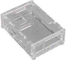 Raspberry Pi Case, transparentní - RASPBCLR