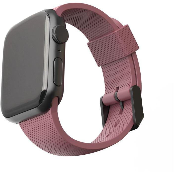 U by UAG silikonový řemínek pro Apple Watch, 42/44mm, růžová