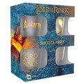 Sklenice panáky Lord of the Rings - set 4 kusů