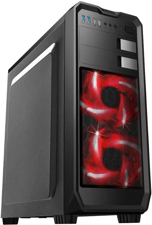 Eurocase ML X807, černá