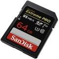SanDisk SDXC Extreme Pro 64GB 95MB/s UHS-I U3 V30