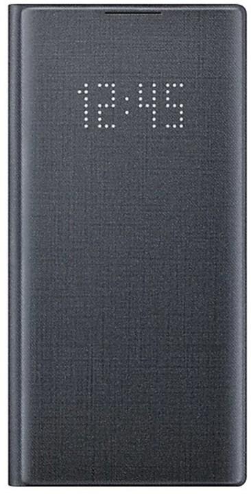 Samsung flipové pouzdro LED View pro Galaxy Note10, černá