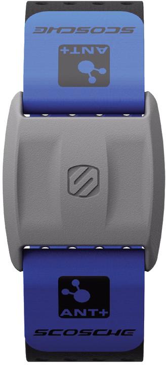 Scosche výměnný řemínek pro RHYTHM+ měřič tepu, modrá
