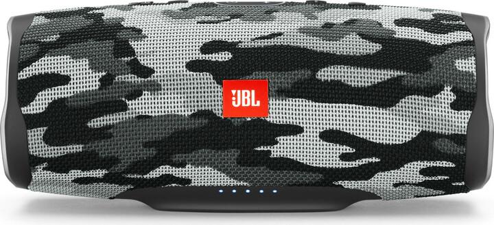 JBL Charge 4, černá kamufláž