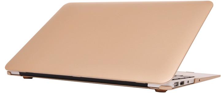 """EPICO plastový kryt pro MacBook Air 11"""" (A1370. A1465), zlatá"""