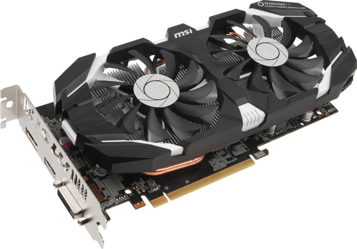 MSI GeForce GTX 1060 3GT OC, 3GB GDDR5