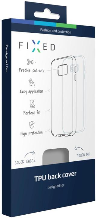 FIXED gelové pouzdro pro Huawei Y6 II Compact, bezbarvá