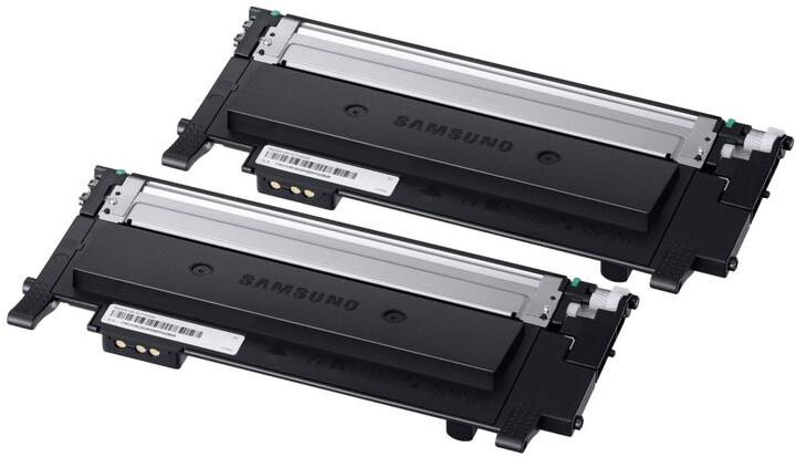 Samsung CLT-P404B/ELS, Toner Twin Pack, černá