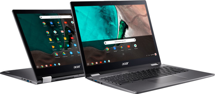 Acer Chromebook Spin 13 (CP713-1WN-59GM), šedá