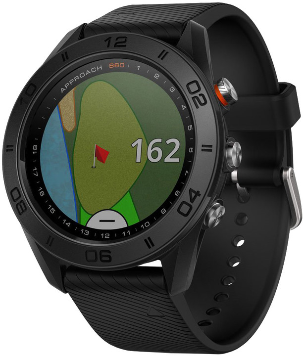 GARMIN Approach S60 black lifetime