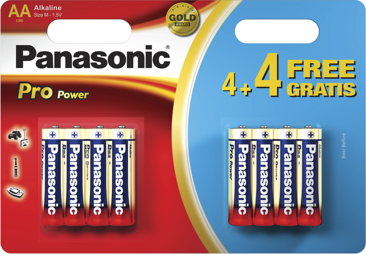 Panasonic Pro Power LR6PPG, AA, 8ks