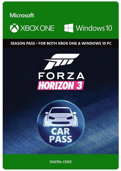 Forza Horizon 3 - Car Pass (Xbox Play Anywhere) - elektronicky
