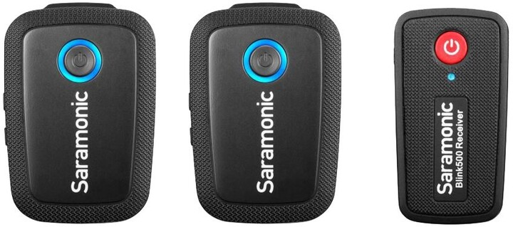 Saramonic Blink 500 B2 (TX+TX+RX), mikrofon s přijímačem
