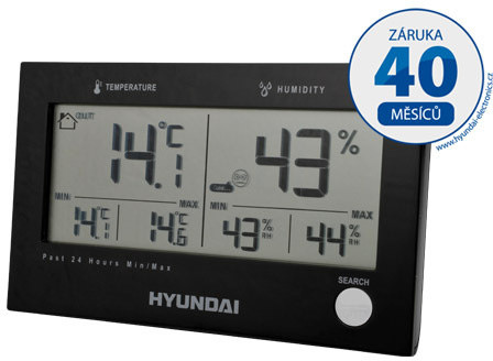 Hyundai WS 2215 B, černá