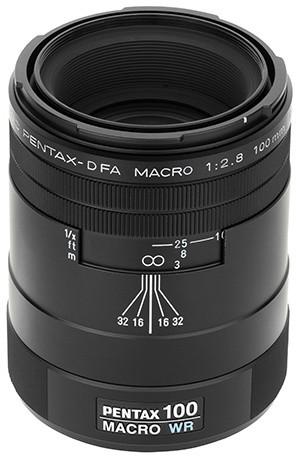 Pentax objektiv D FA Macro 100 F2.8 WR