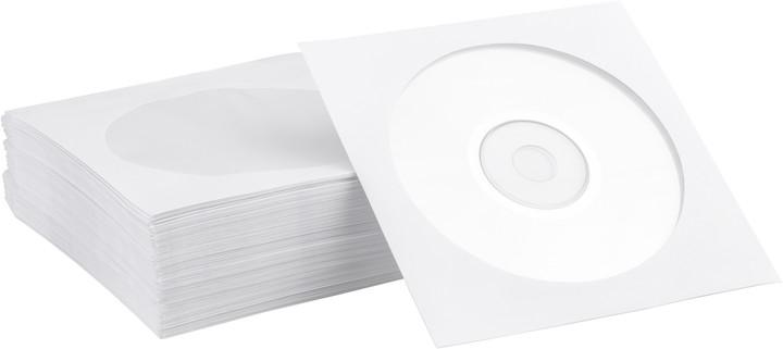 NN obálka papír se zalepovacím klipem 100ks/bal