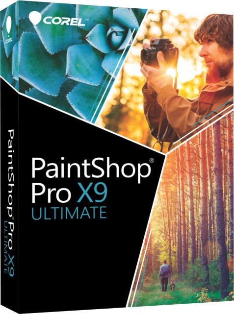 Corel PaintShop Pro X9 Ultimate ML - jazyk EN/ES/FR/IT/NL