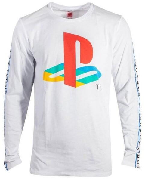 Tričko Playstation: Logo, dlouhý rukáv (L)