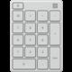 Microsoft numerická klávesnice, bílá