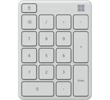 Microsoft numerická klávesnice, bílá - 23O-00025