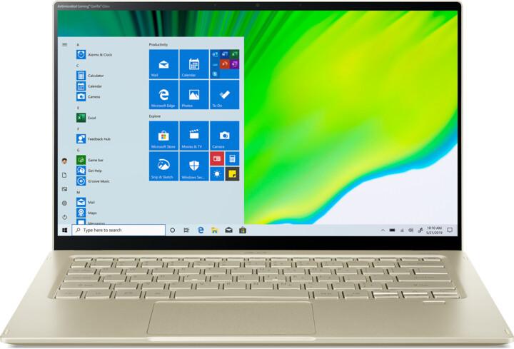 Acer Swift 5 (SF514-55T-52VM), zlatá