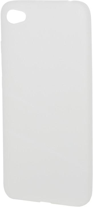 EPICO pružný plastový kryt pro Xiaomi Redmi Note 5A SILK MATT - bílý transparentní