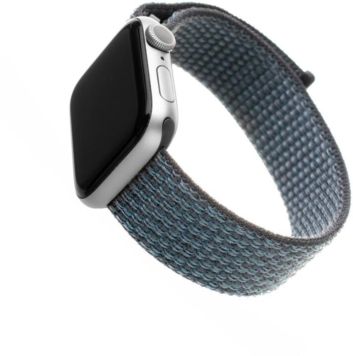 FIXED nylonový řemínek pro Apple Watch, 42/44mm, tmavě šedá