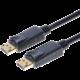 PremiumCord DisplayPort 1.3 přípojný kabel M/M, zlacené konektory, 3m
