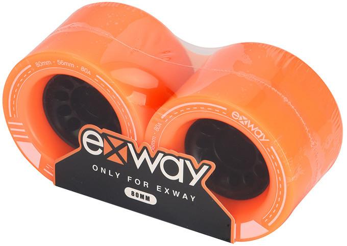 Exway X1 - 80mm kolečka přední - pár