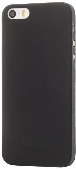 EPICO Plastový kryt pro iPhone 5/5S/SE TWIGGY MATT - černý