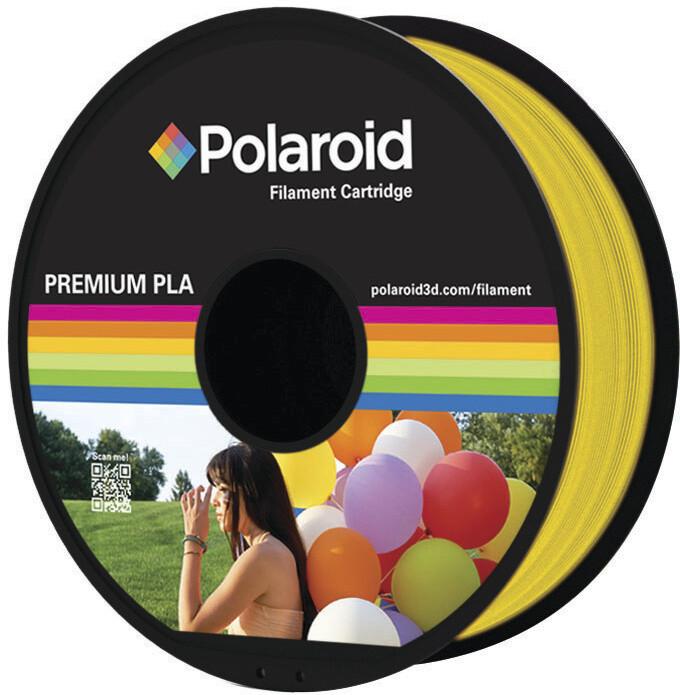 Polaroid 3D 1Kg Universal Premium PLA 1,75mm, transparentní žlutá