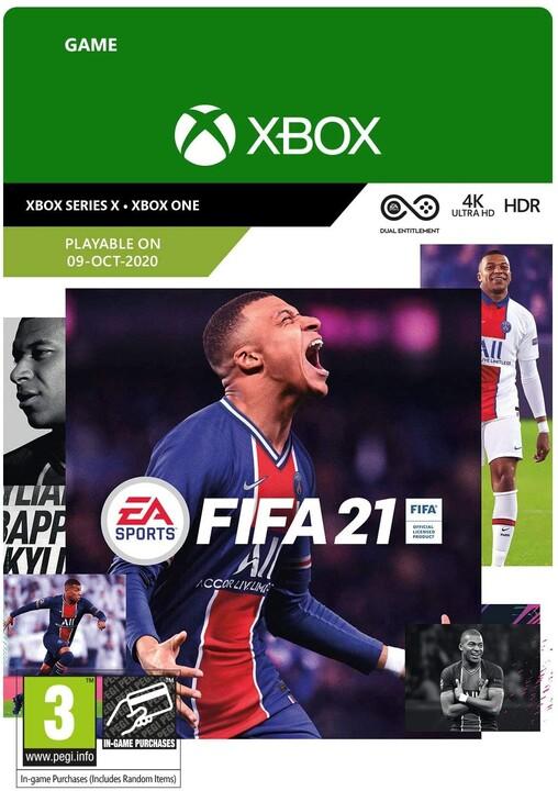 FIFA 21 Standard Edition (Xbox ONE) - elektronicky