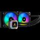 Corsair H100i RGB Platinum, (2x120mm)