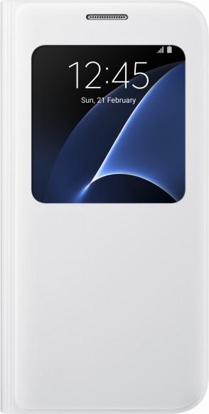 Samsung EF-CG930PW Flip S-View Galaxy S7, White