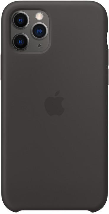 Apple silikonový kryt na iPhone 11 Pro, černá