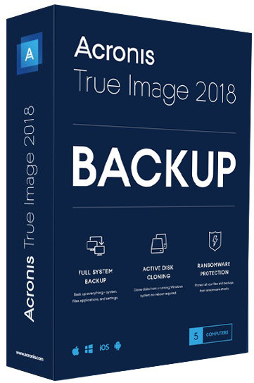 Acronis True Image Advanced Subscription CZ pro 5 PC + 1TB Acronis Cloud Storage