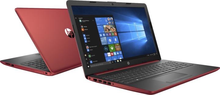 HP 15 (15-db1004nc), červená