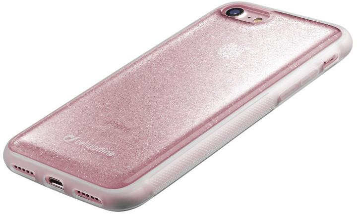 CellularLine SELFIE CASE pro Apple iPhone 7, růžové