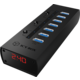 ICY BOX IB-AC6702, USB 3.0 Hub, 7-Port